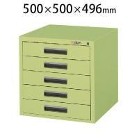 サカエ NKLキャビネット NKL-55 幅500×奥行500×高さ496mm
