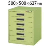 サカエ NKLキャビネット NKL-66 幅500×奥行500×高さ627mm
