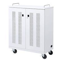 ノートパソコン収納キャビネット W900×D450×H1164mm