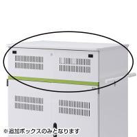 タブレット収納保管庫用追加収納ボックス(44台収納タイプ用) W880×D590×H225mm