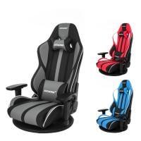 AKRacing(エーケーレーシング) GYOKUZA V2 極坐 ゲーミング座椅子 アームレスト ヘッドレスト ...