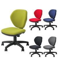 オフィスチェア 事務椅子 デスクチェア 肘なし ワークスチェア 幅590×奥行590×高さ770~850mm