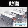 【2脚セット】プレソナ ミーティングチェア スタッキングチェア キャスター付き 座面クッション 幅570×奥行565×高さ805mm-20