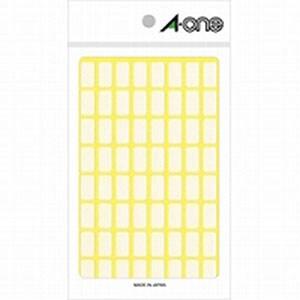 フリーラベル 8×15 白無地 1袋960片入 エーワン/EC-06001
