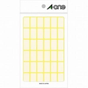 フリーラベル 12×21 白無地 1袋540片入 エーワン/EC-06002