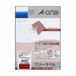 フリーラベルワイド ノーカット 徳用 A4 1袋100シート入 エーワン/EC-06086