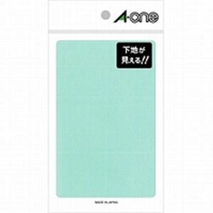 透明保護ラベル 45×90 フリーラベル06017用 1袋24片入 エーワン/EC-08371
