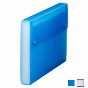 シンプリーズドキュメントファイル 透明 A4 12仕切 背幅35 1冊 キングジム/EC-2288TSP