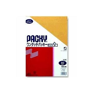 封筒 ワンタッチパッキー テープ付き 角3 8枚入り 高春堂