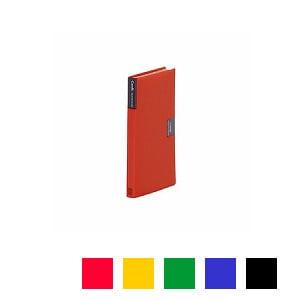 カードホルダー カーズ 溶着式 手帳サイズ ヨコ入れ3枚 背幅16 ポケット数120枚 タテ型 1冊 キングジム EC-42