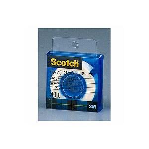 粘着テープ はってはがせるテープ 小巻 幅18mm 1巻 スリーエム EC-811-1-18C