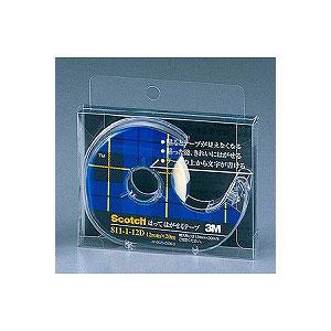 粘着テープ はってはがせるテープ 小巻 テープカッター付き 幅18mm 1巻 スリーエム EC-811-1-18D
