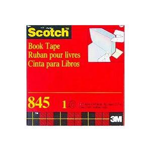 ブックテープ ラミネートテープ カバーテープ 透明 幅38.1mm 1巻 スリーエム EC-845-38