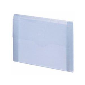 インナードキュメントファイル 乳白 インデックスタブシール付 A4 5仕切 厚さ20 1冊 LIHIT LAB./EC-A-7700-1