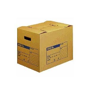 強力耐荷重! 段ボール製ファイルボックス 文書保存箱 フタ差し込み式 A3 1個 コクヨ EC-A3-FBX1