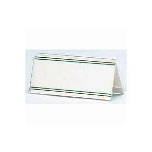 環境対応 PETカード立 AA型 両面タイプ 中紙サイズ147×63 1枚 オープン EC-AA-15