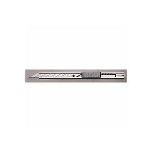 繊細作業用 プロ用カッターナイフ A型 30度 オートロック式 右利き/左利き 1本 NT EC-AD-2P
