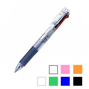 油性ボールペン 4色ボールペン クリップ-オンスリム 4C 0.7mm 1本 ゼブラ EC-B4A5