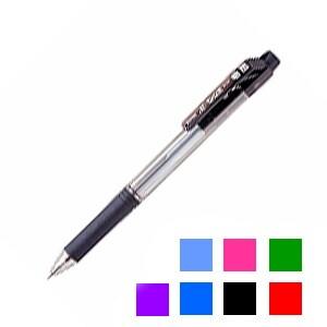 油性ボールペン ドット・イーボール 0.7mm 1本 ぺんてる EC-BK127