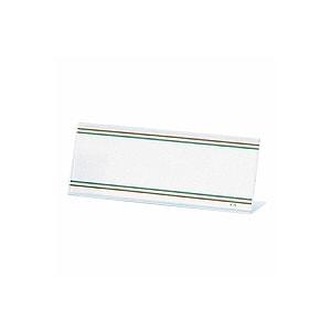 環境対応 PETカード立 CC型 片面タイプ 中紙サイズ177×63 1枚 オープン EC-CC-18