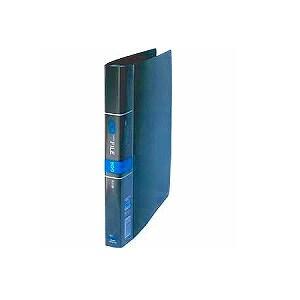 名刺ホルダー 名刺整理帳 A4 見開き20枚ヨコ入れ 背幅28 収容数300-600枚 タテ型 30穴 1冊 コレクト EC-CF-616