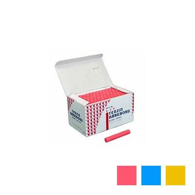 天神印チョーク 石膏カルシウム製 カラーチョーク 1箱100本入 日本白墨 EC-CH