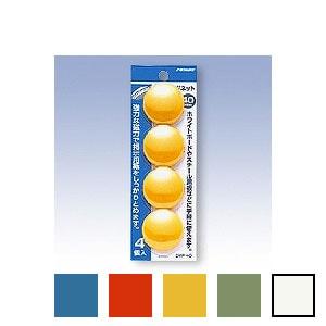 カラーマグネット丸型 大 直径40 1パック4個入 日本クリノス EC-CMP-40