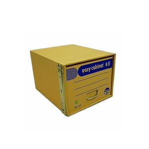 上下左右連結可能!積み重ね5段対応! ファイルボックス イージーキャビネット45 省スペース型 金具脱着式 A4 1個 ゼネラル EC-EC-101