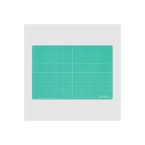 スケルトンカッティングマット カッターマット Mサイズ 450×600 10mm方眼入り エコール EC-EKM-M