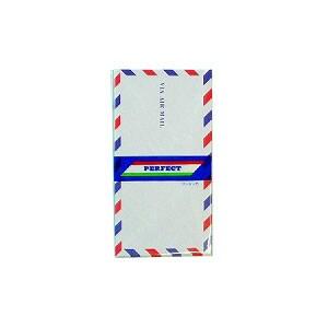 EC-EN-A102 / 洋6封筒 ワンタッチエアメール封筒 ホワイト封筒 テープ付き 10枚入り エコール