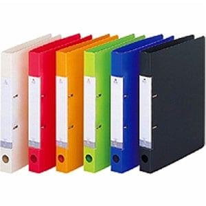 リクエストD型リングファイル A4 背幅34 タテ型 2穴 1冊 LIHIT LAB./EC-G2220