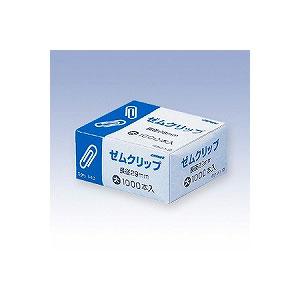 ゼムクリップ 大 箱入 長さ29 1個1000本入 日本クリノス EC-GKULI-1-10