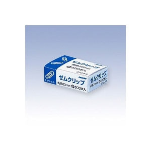 ゼムクリップ 小 箱入 長さ23 1個500本入 日本クリノス EC-GKULI-3-5