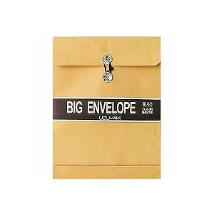 角2封筒 クラフト封筒 35mmマチ紐付き クラフトパッカー 1枚 うずまき/EC-HO-058