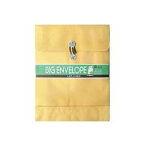 角0封筒 クラフト封筒 60mmマチ紐付き クラフトパッカー 1枚 うずまき/EC-HO-259