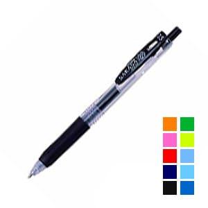 水性ボールペン 折れにくい可動式クリップ サラサクリップ 0.5mm 1本 ゼブラ EC-JJ15
