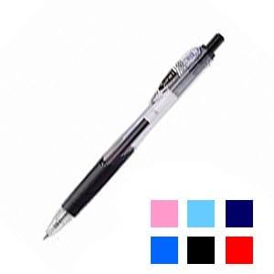 水性ボールペン 折れにくい可動式クリップ サラサクリップ 0.4mm 1本 ゼブラ EC-JJS15
