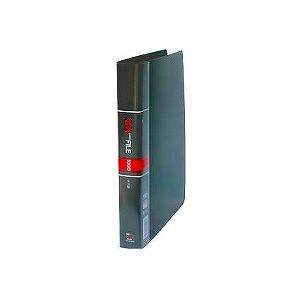 名刺ホルダー 名刺整理帳 A4 見開き18枚ヨコ入れ 背幅38 収容数405-810枚 タテ型 30穴 1冊 コレクト EC-K-618