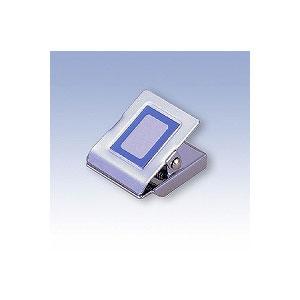 スチールマグネットクリップ 角型 小 A4コピー用紙約40枚 1個 日本クリノス EC-MC-250