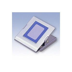 スチールマグネットクリップ 角型 大 A4コピー用紙約120枚 1個 日本クリノス EC-MC-350