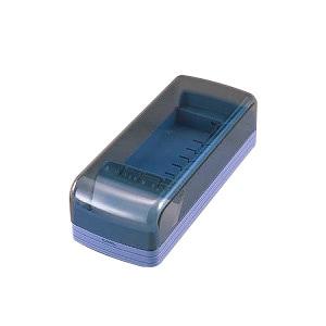 整理に便利なボックスタイプ! 名刺整理器 ワイド・オープン方式 収容数600枚 1個 カール EC-NO-860E-B