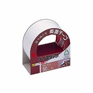 両面テープ 屋外掲示用 強力タイプ ナイスタック 大巻 幅50mm 1巻 ニチバン/EC-NW-N50