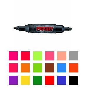 詰め替え式 水性マーカー マジック プロッキー 太字 6.0mm / 細字 1.2~1.8mm 1本 三菱鉛筆 EC-PM150TR
