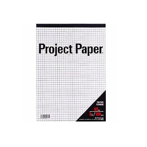 プロジェクトペーパー レポート用紙 B5 5mm方眼 1冊100枚 オキナ EC-PPB55S
