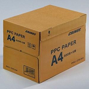PPCペーパー コピー用紙 A4 ISO白色度約87% 500枚×5冊 1箱2500枚入 日本クリノス/EC-PPC-CRIA4