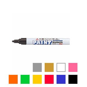 EC-PX20 油性マーカー マジック ペイントマーカー 中字 2.8~2.2mm 1本 三菱鉛筆