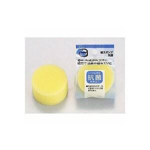 切手、印紙などに! 丸型スポンジケース 替スポンジ EC-R-1替用 抗菌スポンジ使用 1個 オープン EC-R-101