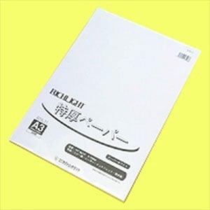 リッチライト特厚口カラーペーパー スーパーホワイト A3 1冊50枚入 オストリッチダイヤ/EC-RTA-31