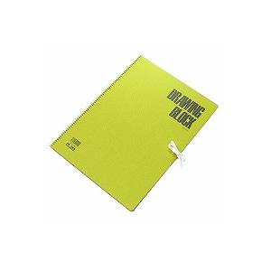 スケッチブック 画用紙 F4サイズ 332×242mm 1冊20枚 オリーブシリーズ マルマン EC-S84
