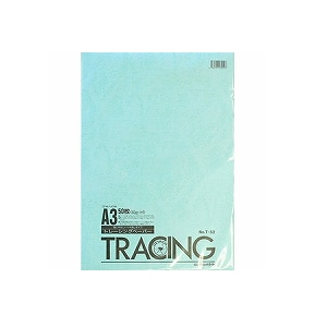 デザイン用 トレーシングペーパー 透写紙 A3 ツヤ消し 50g/m2 1冊50枚 うつし紙 オストリッチダイヤEC-T-52